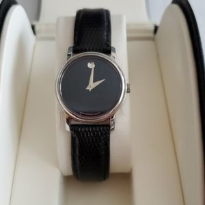Womens Movado museum watch.